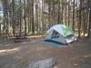 Unser Zelt!