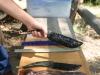 Messer aus Obsidian