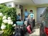 Acht Gepäcke + vier Handgepäcke